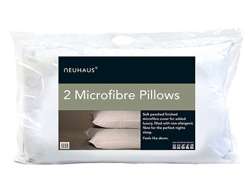 Vico Neu Haus   Feels Like Down Pillow  Twin Pack